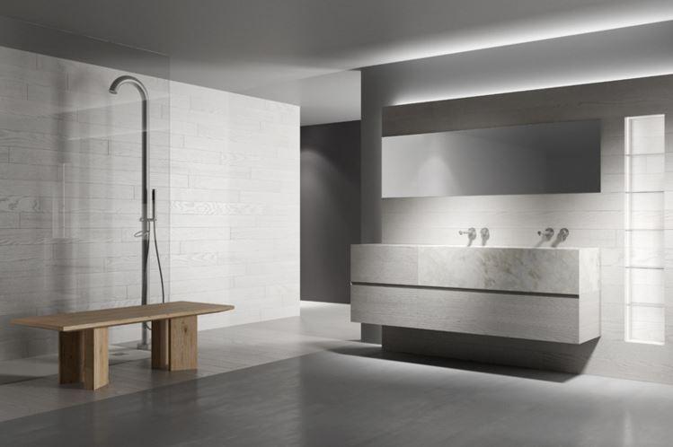 Progetto bagno - Mobili bagno legno massiccio ...